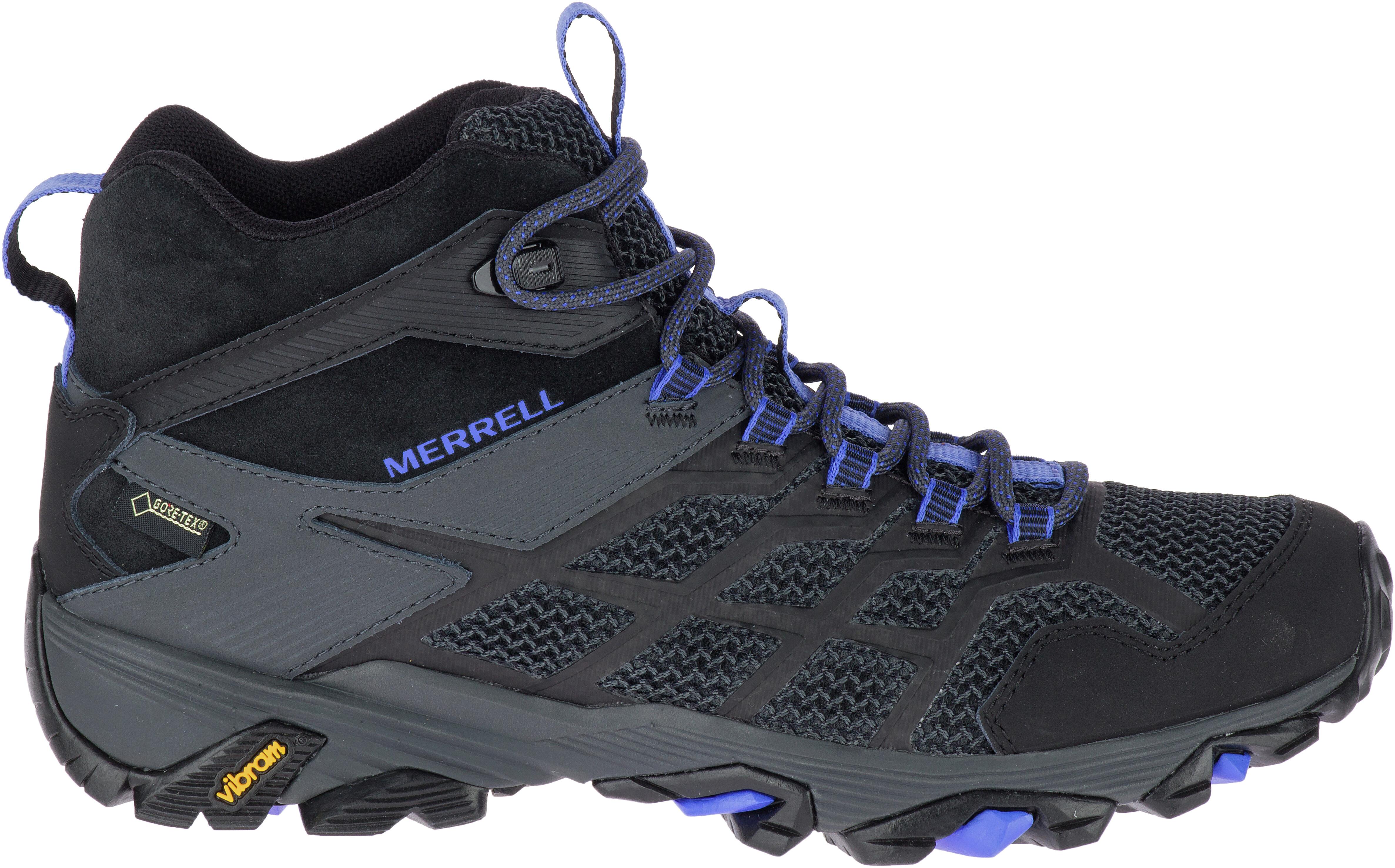 f9f9488bbea Merrell Moab FST 2 Mid GTX Sko Damer sort | Find outdoortøj, sko ...
